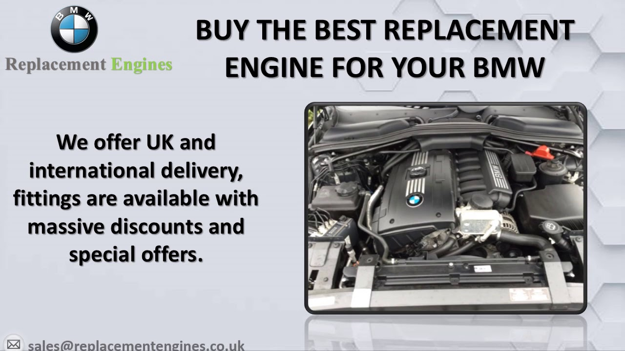 Cheapest BMW Engines for Sale on the Net