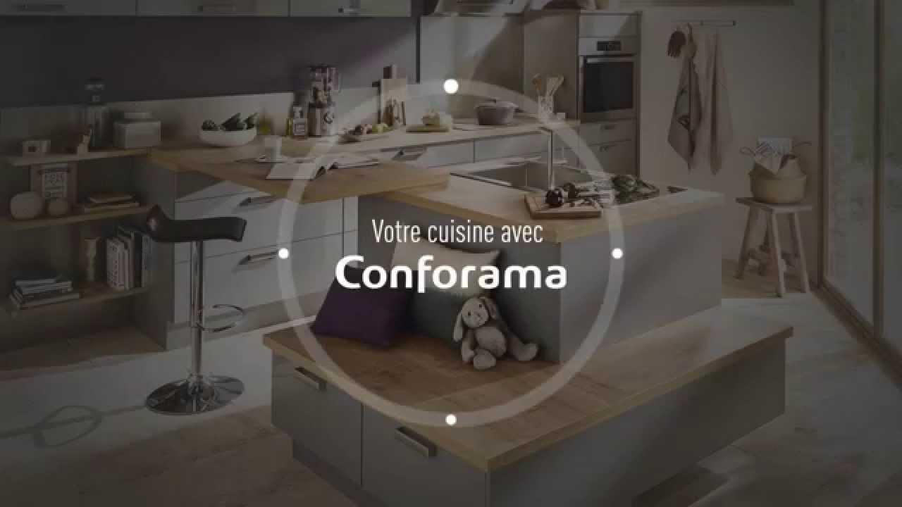 donnons vie votre cuisine conforama youtube. Black Bedroom Furniture Sets. Home Design Ideas