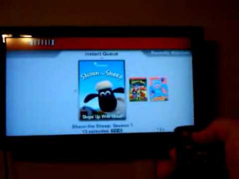 Netflix on WD HD TV Live Plus