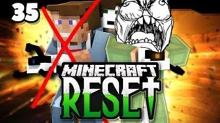 SCHLIMMSTER MOMENT IM GANZEN PROJEKT! - Minecraft RESET II #35 | DNER & UNGE!