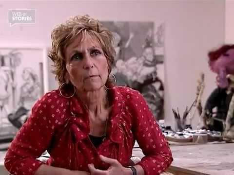 Girls never get pregnant at the Slade School of Fine Art - Paula Rego [video]