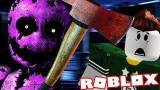 HOW TO PLAY AS THE PURPLE GUY! | Roblox FNAF (Five Nights at Freddys)