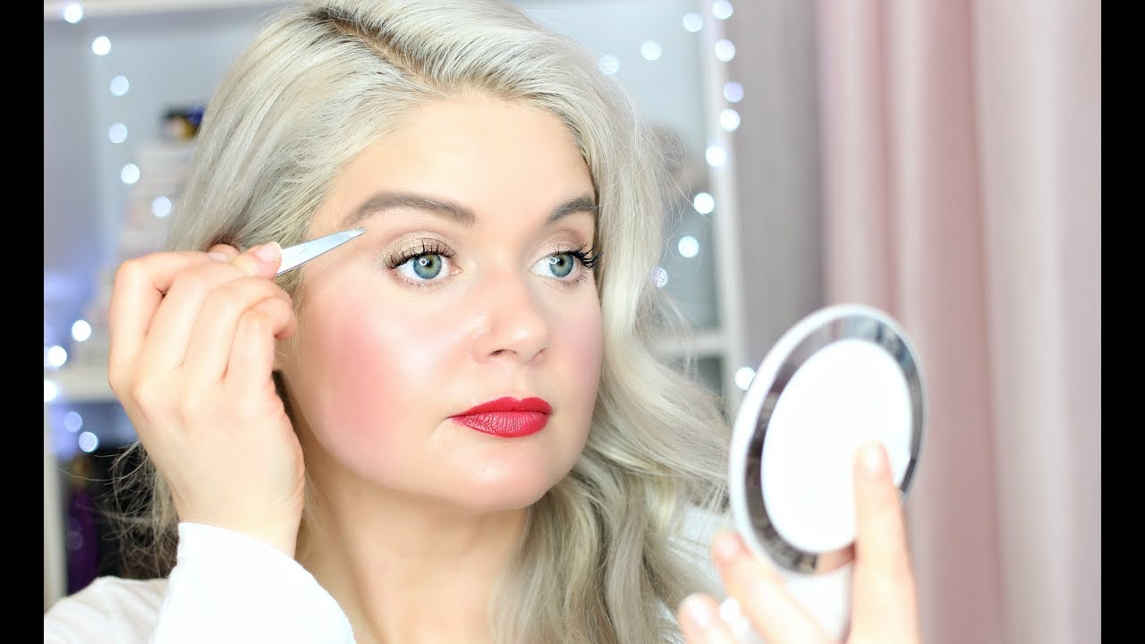 How to Shape Eyebrows at Home with Tweezers + How to Grow ...