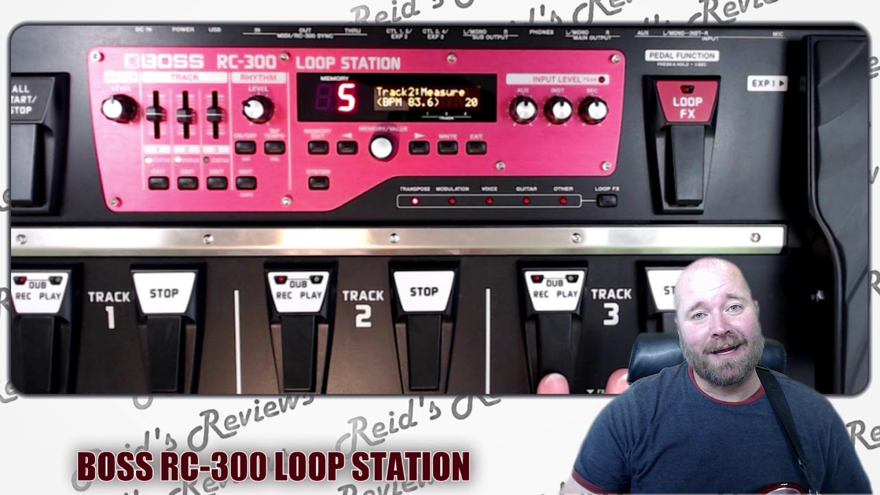 monster or manageable boss rc 300 loop station rc300 looper guitar pedal review reid 39 s reviews. Black Bedroom Furniture Sets. Home Design Ideas