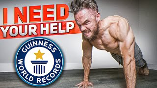 Most Push Ups in 30 Seconds. I NEED YOUR HELP