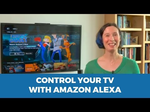 Control your TV with Amazon Echo or Google Voice