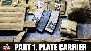 Gear Evolution Part 1 Condor Sentry Plate Carrier and 3 Mag Pouch