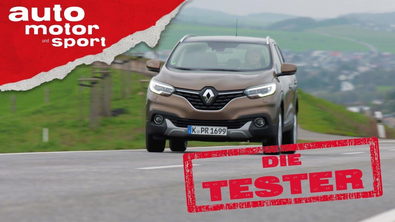 Renault Kadjar Komfortabler Charmebolzen Die Tester Auto Motor