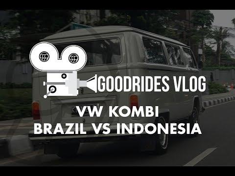 GOODRIDES VLOG // VW KOMBI BRAZIL vs INDONESIA