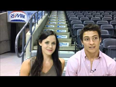 Pre-season chat with Tessa Virtue and Scott Moir