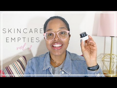 Skincare Empties Vol. 2 | Lots of cleansers...