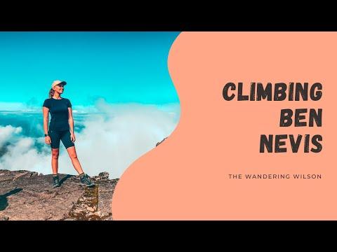 CLIMBING THE TALLEST MOUNTAIN IN THE UK | BEN NEVIS | SCOTLAND HIKING