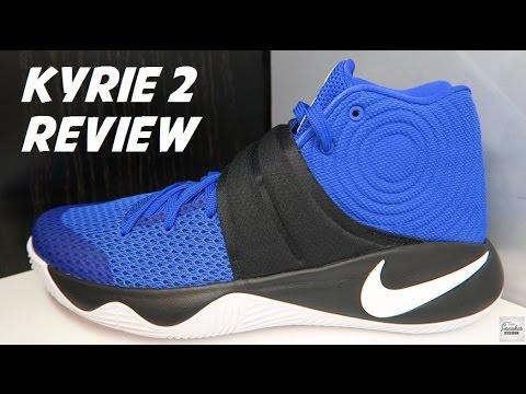 b7cad9383279 ... discount nike kyrie 2 alma mater aka brotherhood sneaker review youtube  016b0 449f2