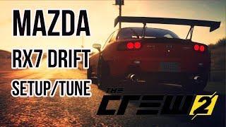 The Crew 2 Mazda Rx7 Drift Setup/Tune+Controller setup