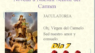 Novena a Nuestra Señora del Carmen Dia 7