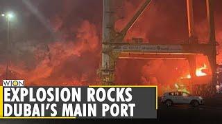 Huge explosion erupts on ship at Jebel Ali port, sending shockwaves through Dubai   WION World News