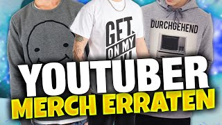 YOUTUBER AM MERCH ERKENNEN