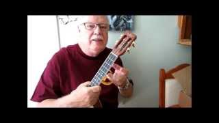 DOWN BY THE OLD MILL STREAM - Video tutorial by UKULELE MIKE LYNCH