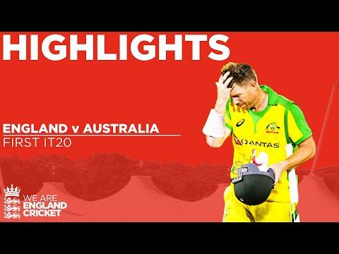 England V Australia - Highlights   Great Drama After Stunning Comeback!   1st Vitality IT20 2020