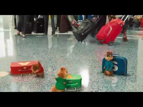 Alvin ve Sincaplar komik sahneler