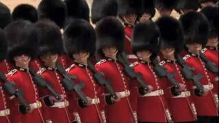 5 Trooping the Colour - Guards March Past in Slow and Quick Time