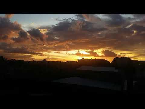 Por do sol em Manaus