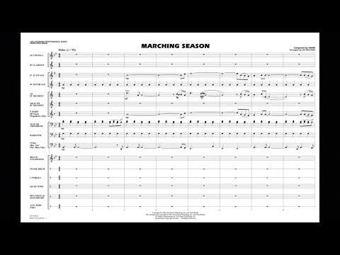 Marching Season by Yanni/arranged by Jay Bocook