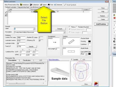 Using AGi32's Room Estimator