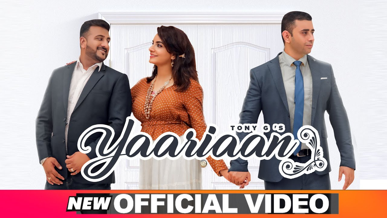 Yaariaan (Official Video) | Tony G | Dinesh DK | Latest Punjabi Songs 2020 | Speed Records