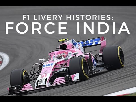 F1 Livery Histories: FORCE INDIA