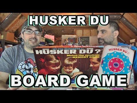 HUSKER-DU (BOARD GAME)