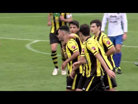Tercera División 2016-17. Resumen Club Portugalete 1 - Lagun Onak 1