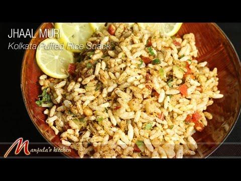 Jhaal Muri - Kolkata Puffed Rice Snack Recipe by Manjula