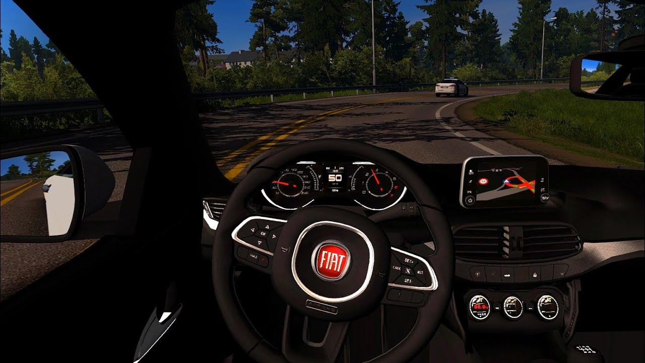 Fiat Egea Wagon - Euro Truck Simulator 2 [Steering wheel gameplay]