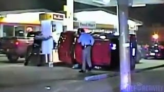 Dangerous Police Chase Ends in Crash at Cleveland Gas Station