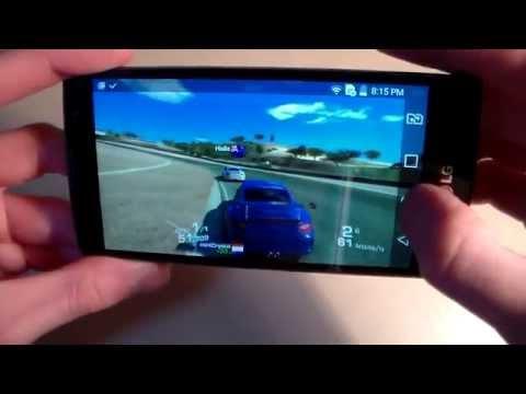 Игры на LG Spirit Y70 H422 (RealRacing3, Asphalt8, DeadTrigger2) GameTest