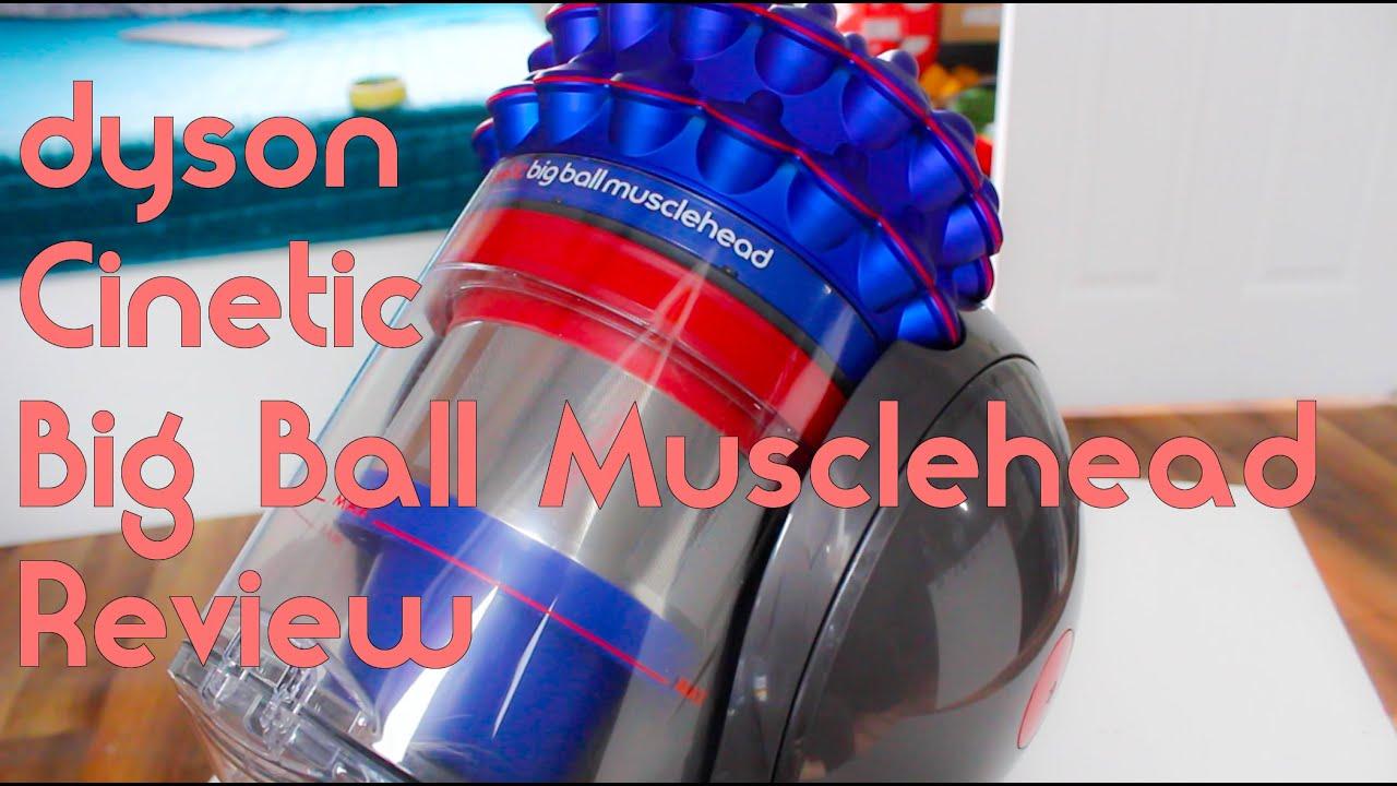 Dyson Cinetic Big Ball Musclehead Test
