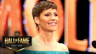 Molly Holly takes her place in the Class of 2021: WWE Hall of Fame 2021