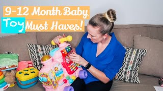 9-12 Month Baby Must Have Toys // Best Toys // Pieces Of Jayde