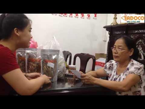Điều trị giãn tĩnh mạch chân ở đâu hiệu quả - cảm nhận của cô Hà Bình Thạnh - www.tadoco.com