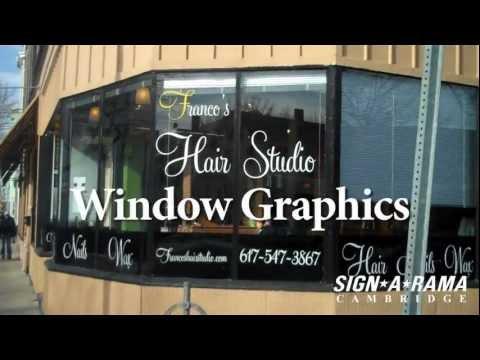 Signs Boston Window Graphics by Signarama Cambridge