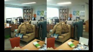 2 iphone 3d stereo movie