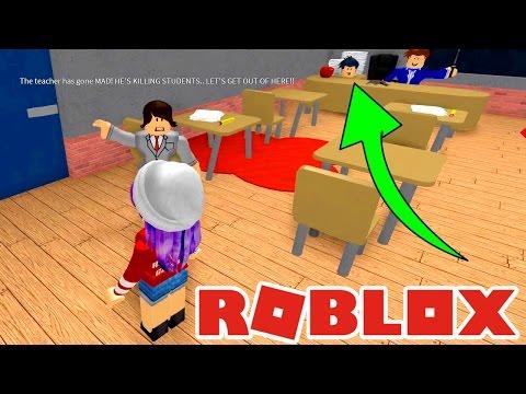 ROBLOX ESCAPE SCHOOL OBBY   SLIME MIND CONTROL!   RADIOJH GAMES