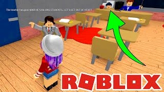ROBLOX ESCAPE SCHOOL OBBY | SLIME MIND CONTROL! | RADIOJH GAMES