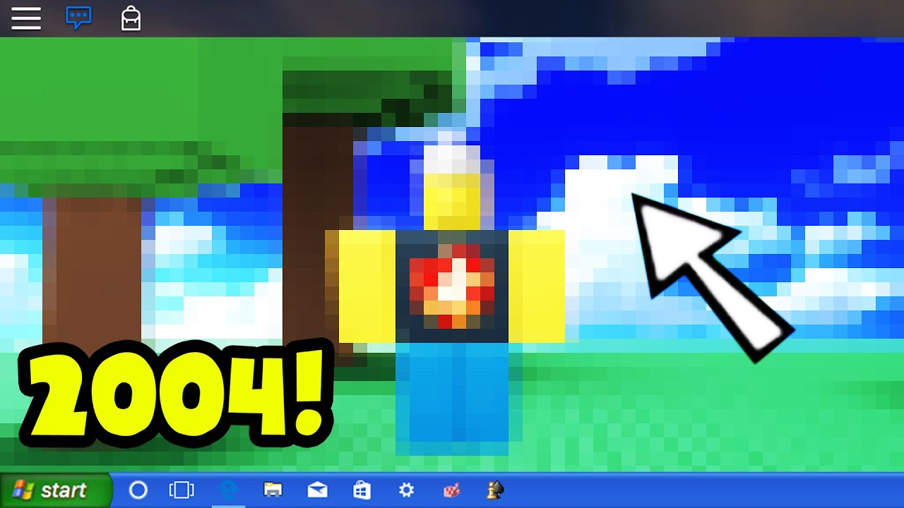 Playing The First Roblox Game Ever 2004 Youtube