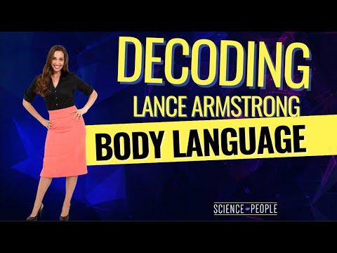 Decoding Lance Armstrong's Body Language