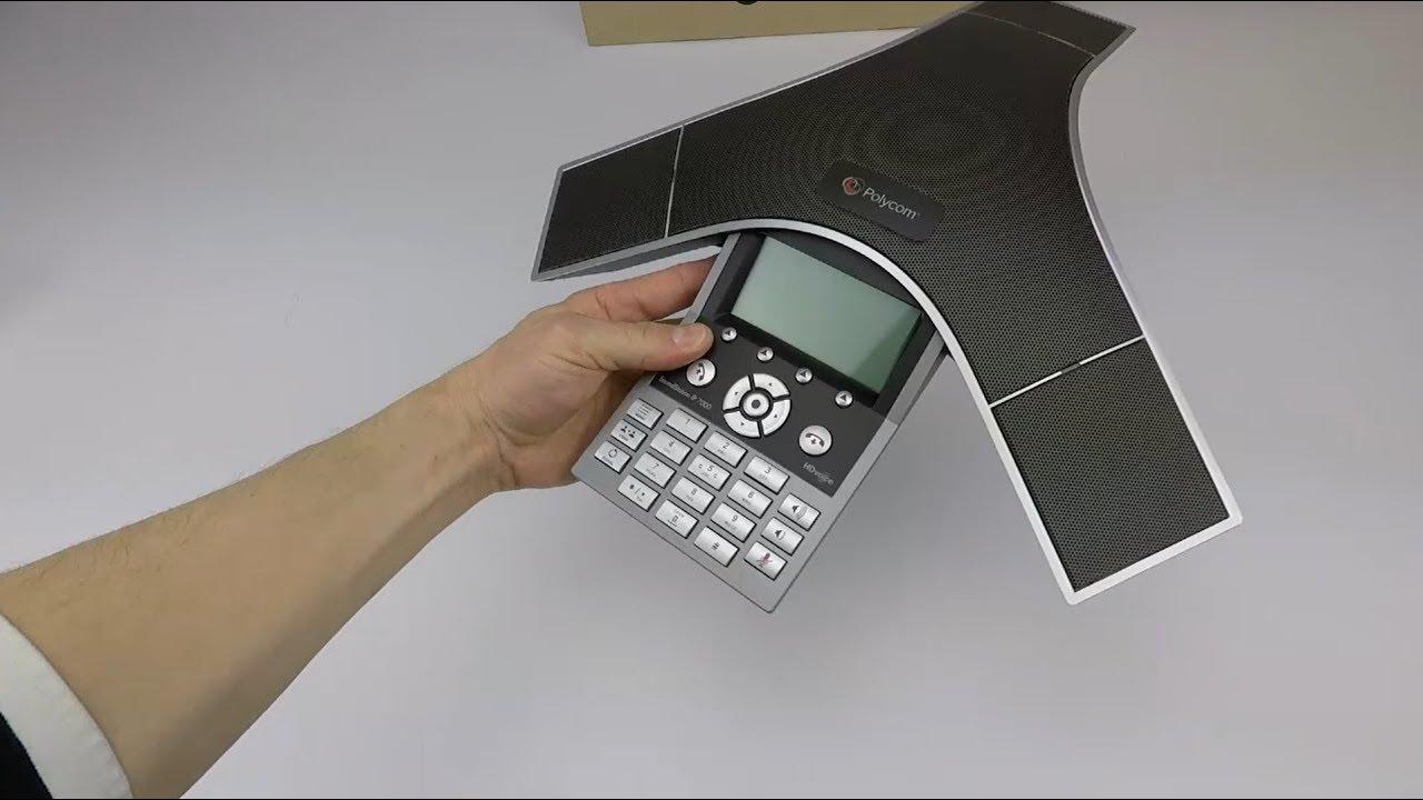 Telecom Supplier - Polycom IP 7000 Conference Phone - Unpack & Preview