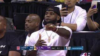 2nd Quarter, One Box Video: Los Angeles Lakers vs. Detroit Pistons