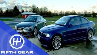 Fifth Gear: Audi RS4 vs. BMW M3