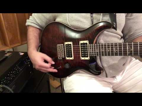 Suhr Thornbuckers installed into PRS Custom 24 - Sound review